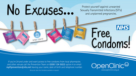 The C-Card scheme gives FREE access to condoms and lube for young people in South Staffordshire aged 13-25.